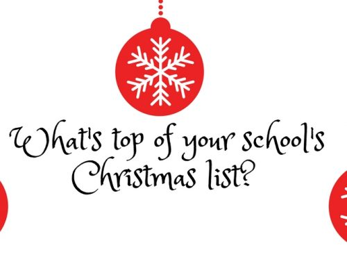 What's top of your school's Christmas list?