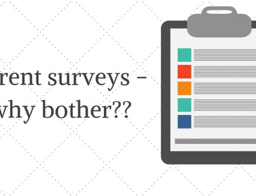 Parent surveys – why bother?